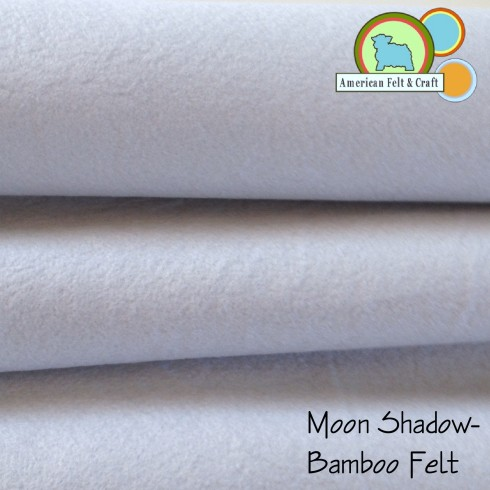 Moon Shadow is a subtle grey bamboo felt