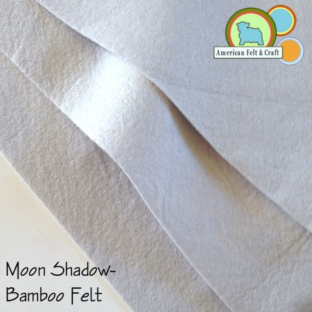 Moon Shadow Bamboo felt fabric American Felt and Craft