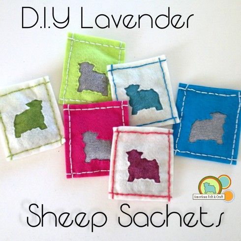DIY Lavender drawer sachets