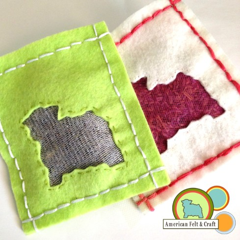 DIY Felt Craft - Drawer and Closet Lavender scented sachets
