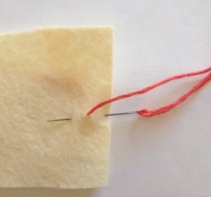 How to sew a backstitch a quick refresher