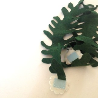 felt kelp bridle