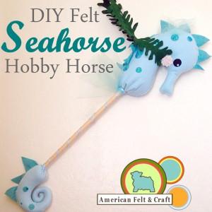 DIY Seahorse hobby horse