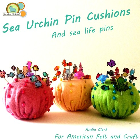 Sea Urchin Pin Cushions