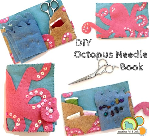 DIY felt needlebook tutorial