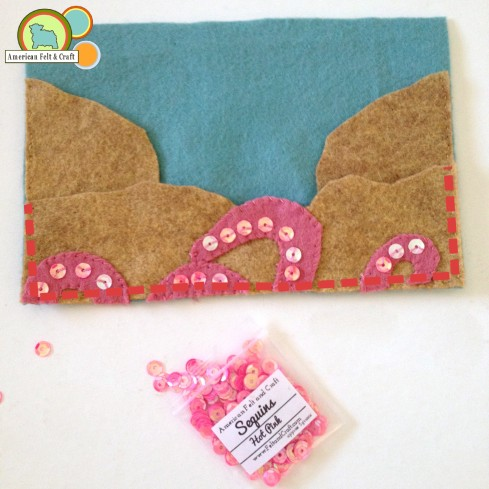 Add base pocket to felt needle book