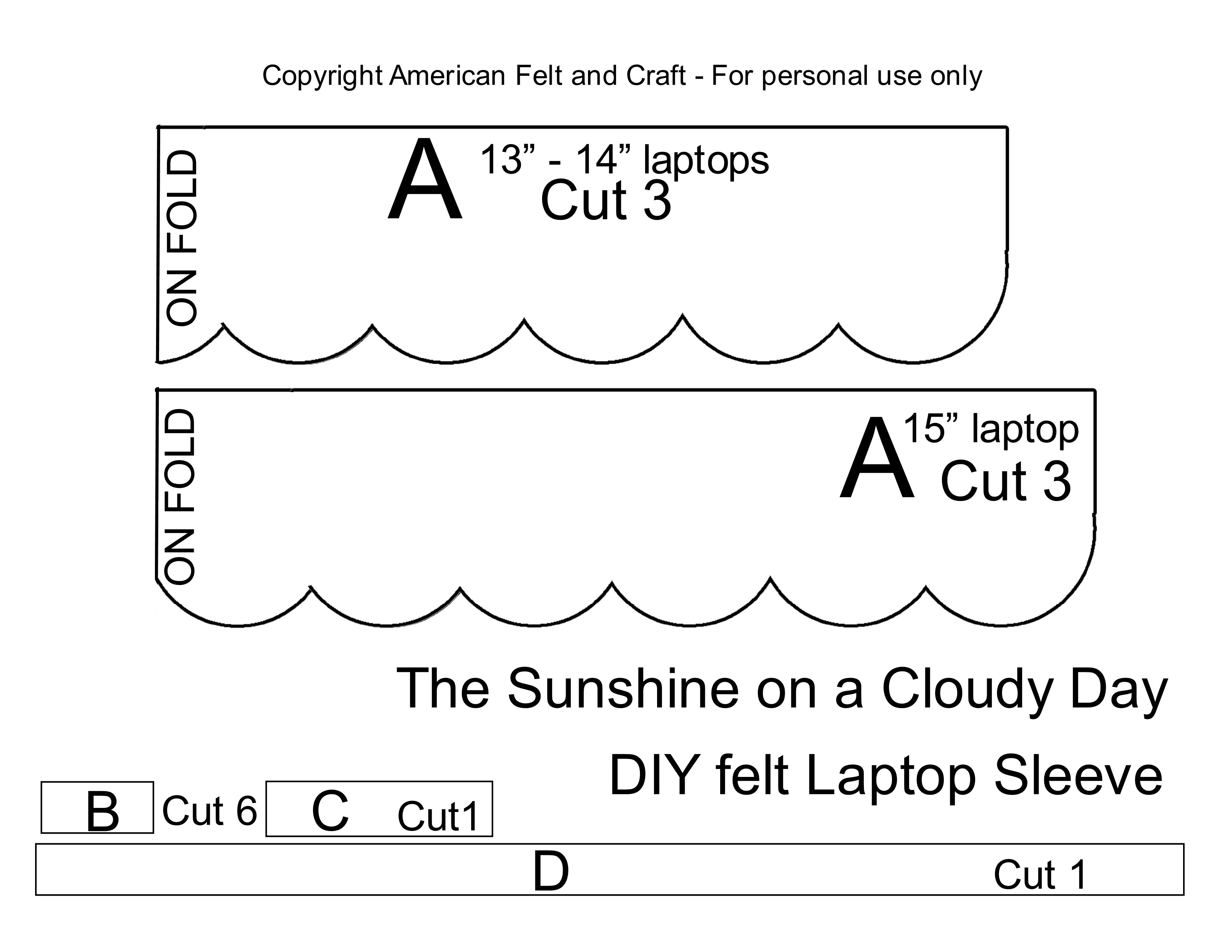 laptop | ~American Felt & Craft ~ Blog