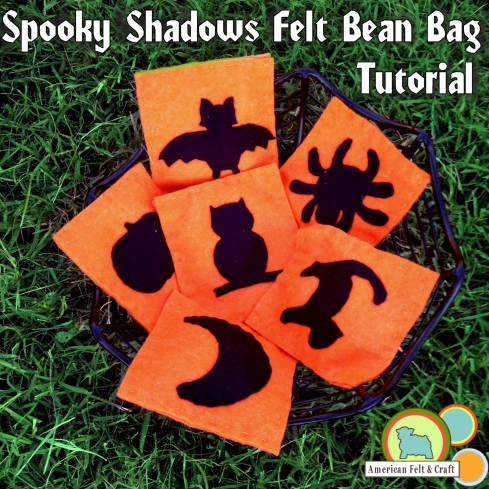 Easy Halloween bean bags - prefect project for a beginning hand sewer!
