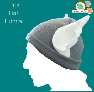 DIY Thor Hat Tutorial - Super easy!