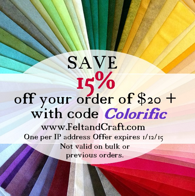Coupon discount code American Felt and Craft