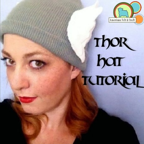 DIY Thor Hat Tutorial Pattern