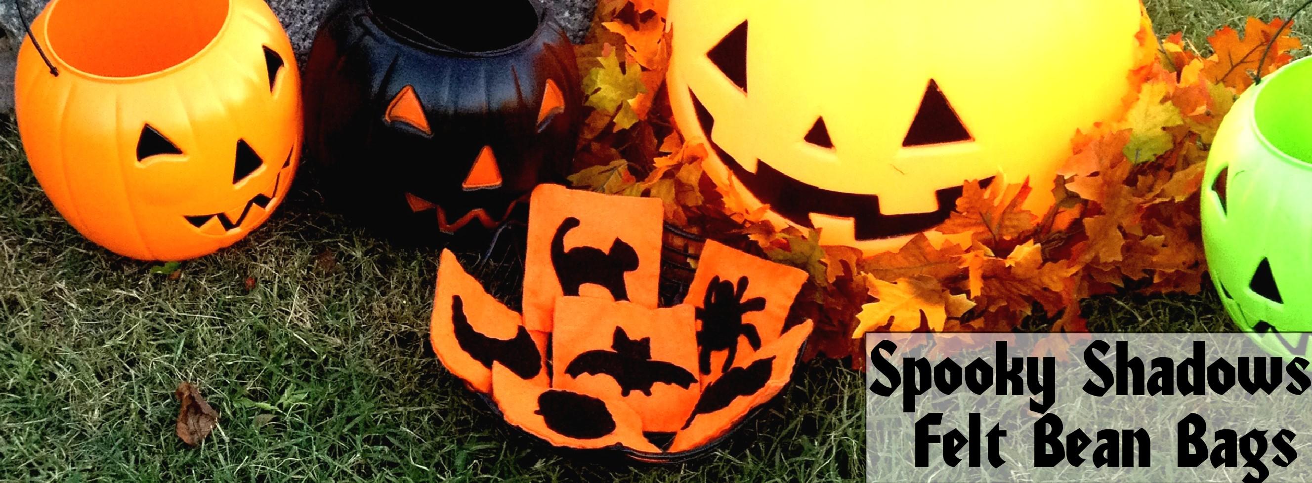 Wondrous Spooky Shadows Diy Halloween Felt Bean Bag Tutorial Onthecornerstone Fun Painted Chair Ideas Images Onthecornerstoneorg