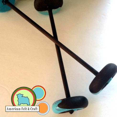 How to make a wheeled toy from craft store supplies