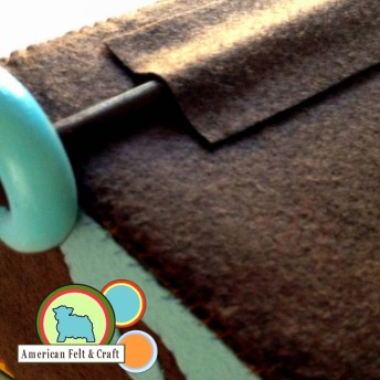 How to make a wheeled pull toy - Felt Mayflower American Felt and Craft