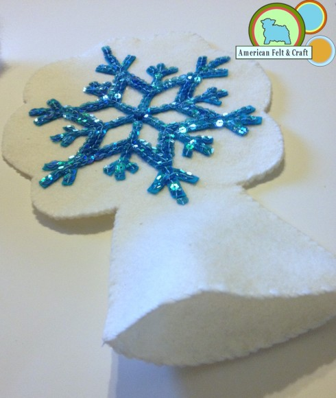 Simple Snowflake Tree topper