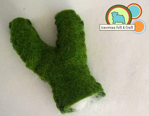 DIY felt food -veggies American Felt and Craft