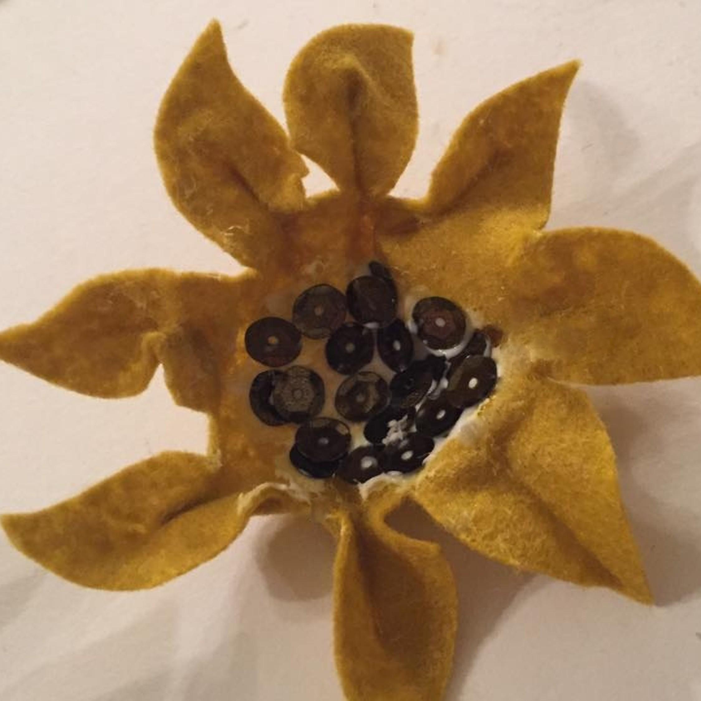 DIYFeltSunflower7