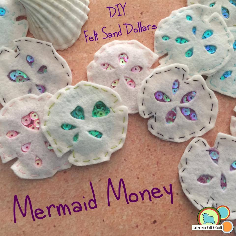 mermaid money - sand dollar