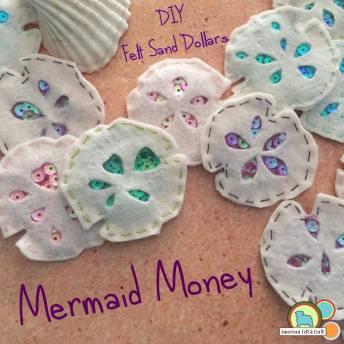 mermaid money - sand dollar