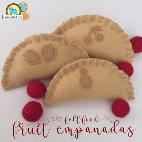 Felt food tutorial - felt hand pies