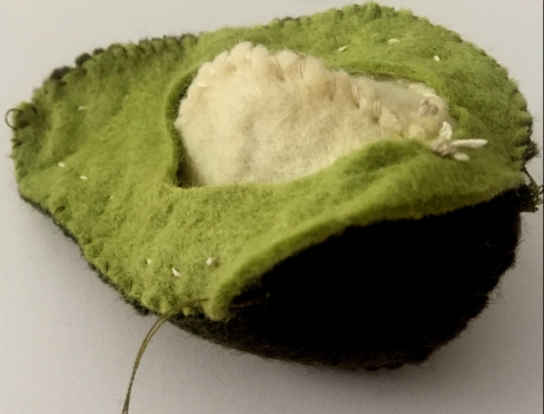 ugly avocado American Felt and Craft