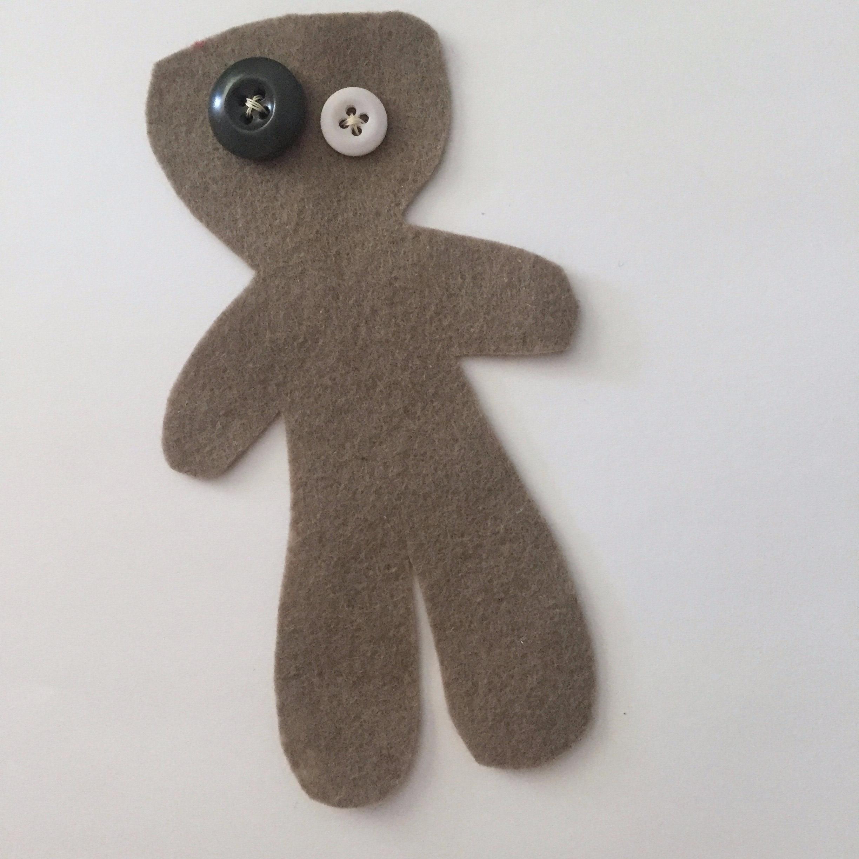 felt voodoo doll
