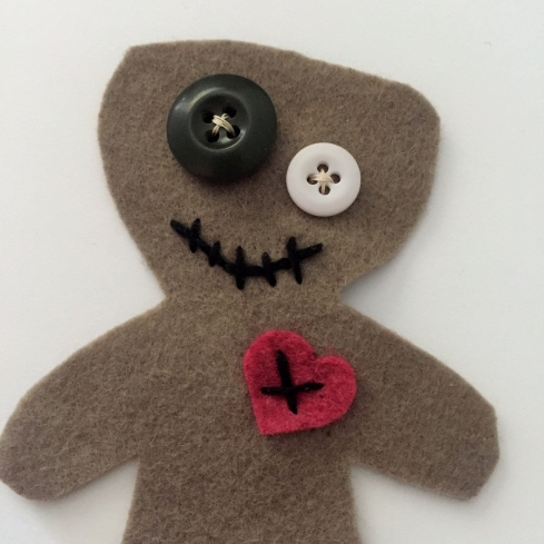 DIY Voodoo doll