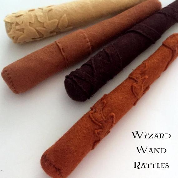 wizard rattles