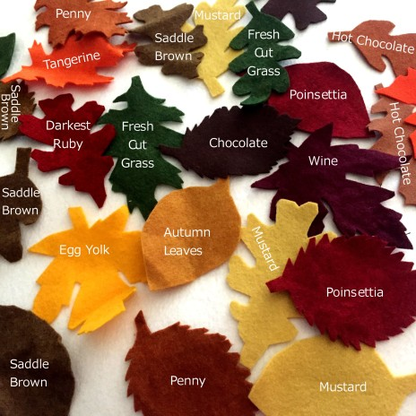 Fall American Felt and Craft