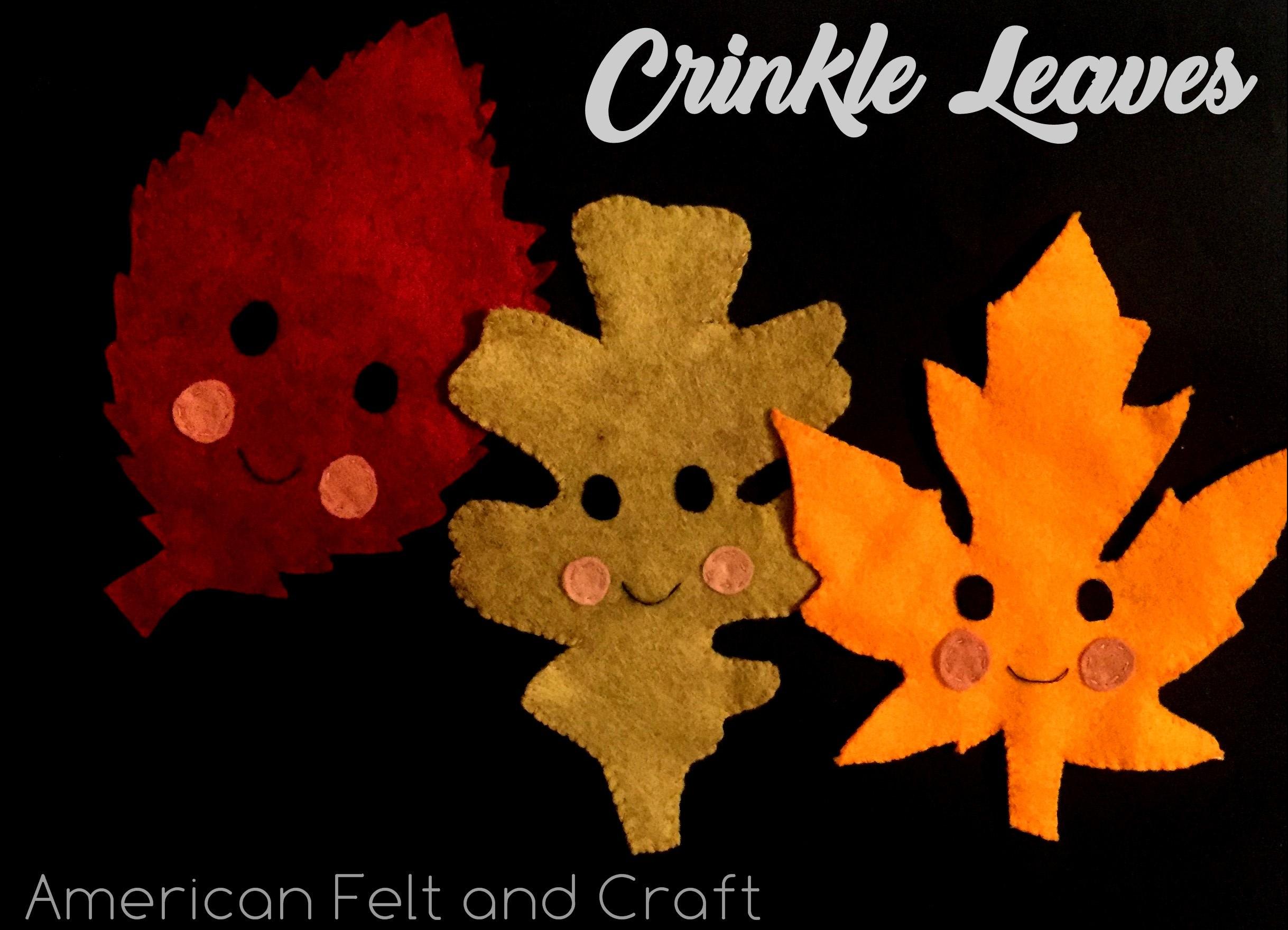 fall felt craft project
