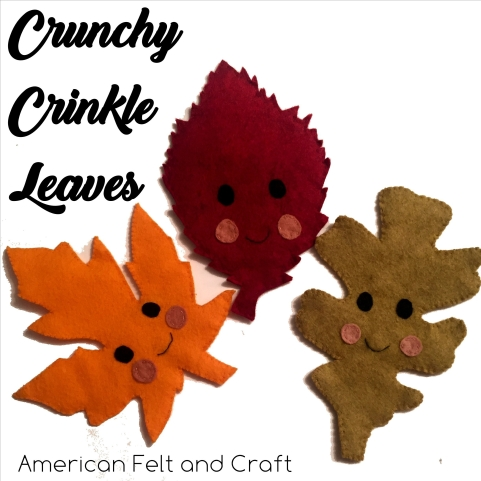 DIY crinkle leaves tutorial and pattern How to