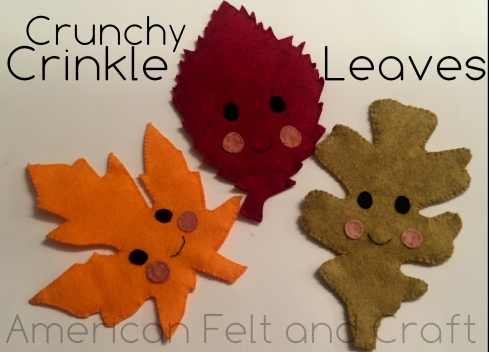 Crunchy Crinkle leaves tutorial