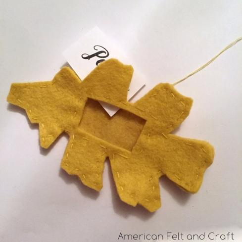 name card leaf