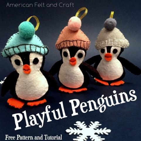 penguin Christmas Ornament Pattern
