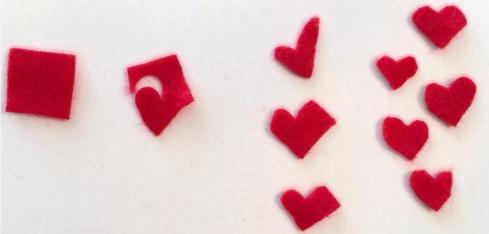 hearts felt