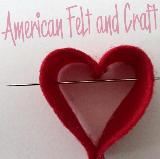 felt valentines day craft