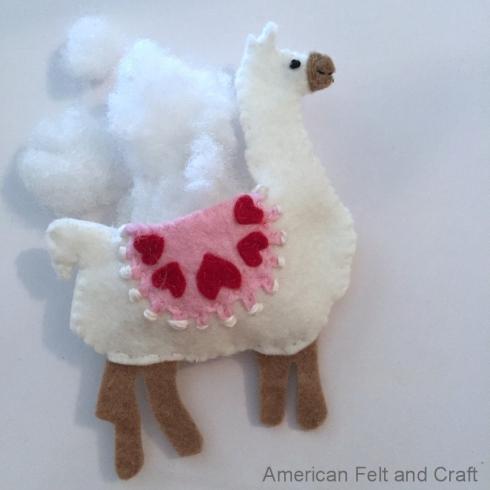 llama stuffie