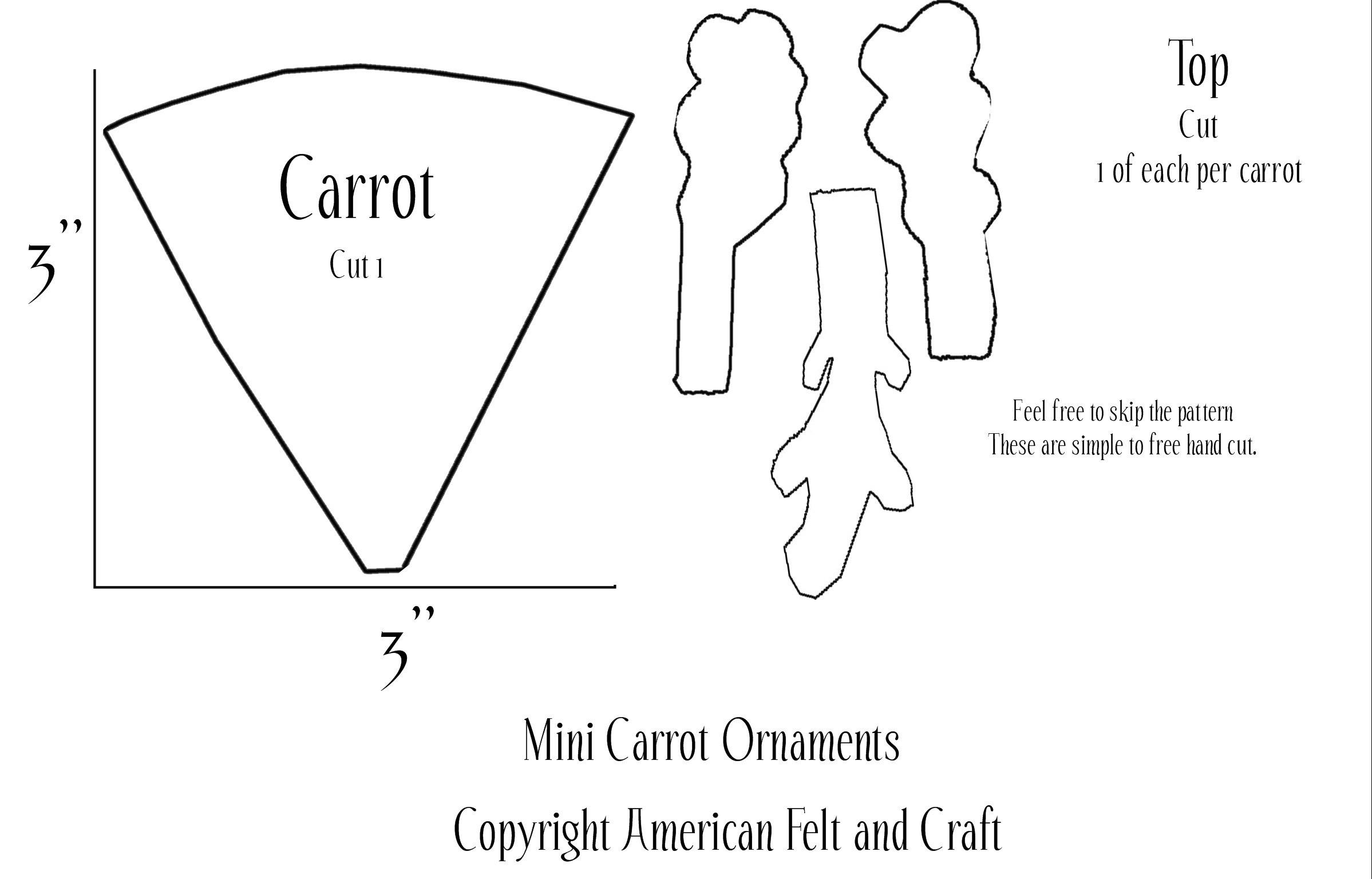 carrot template