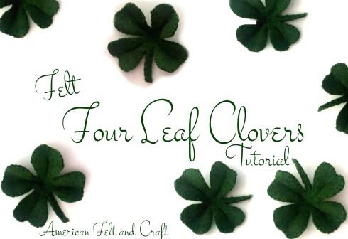 St Patrick S Day American Felt Craft Blog