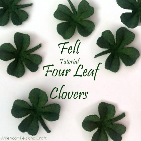 How to make a four leaf clover