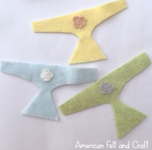 felt diaper pattern