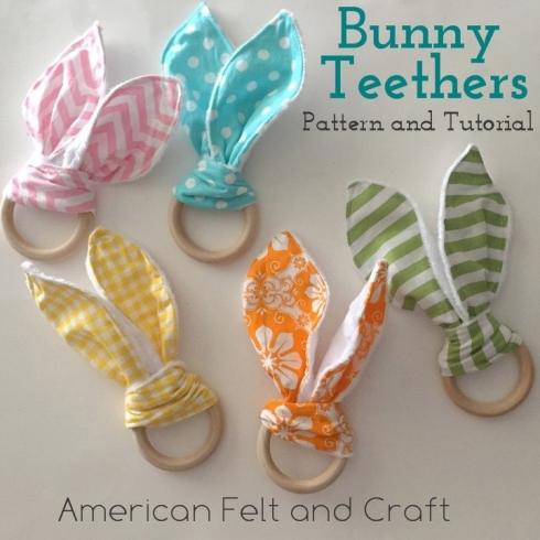 bunny ear teethers