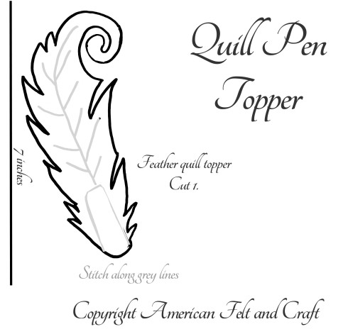 feather quill template