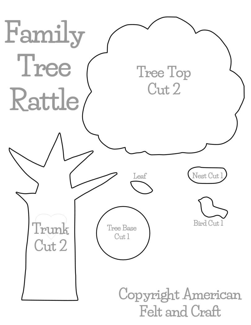 treerattletemplate | ~American Felt & Craft ~ Blog