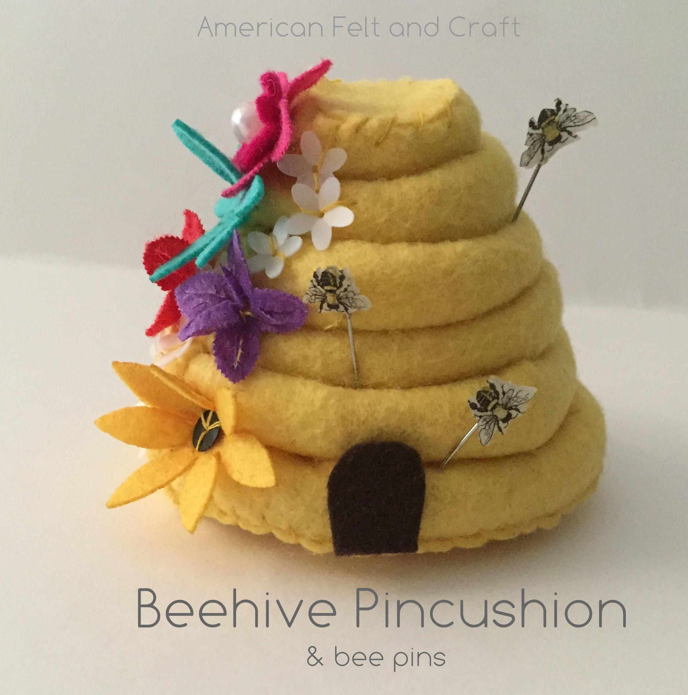 Bee Pincushion DIY free pattern