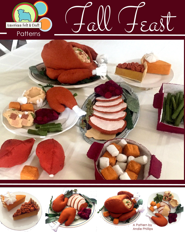 American Felt and Craft Thanksgiving pattern