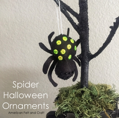 spider Ornament  soft
