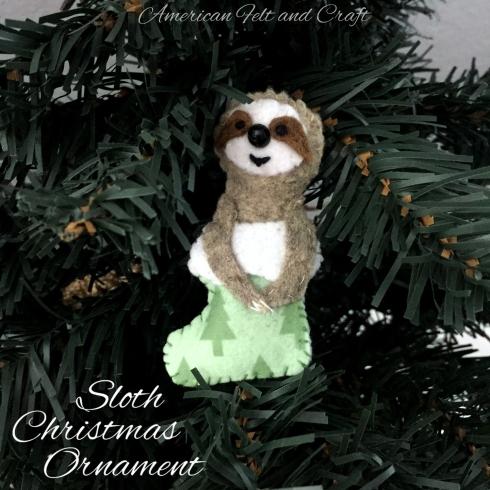 Sloth Ornament - DIY
