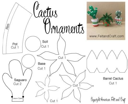 felt christmas ornament patterns american felt craft blog