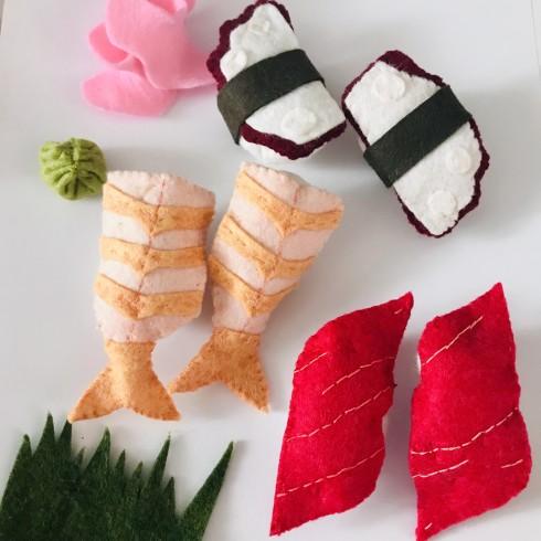 Sushi - felt sushi